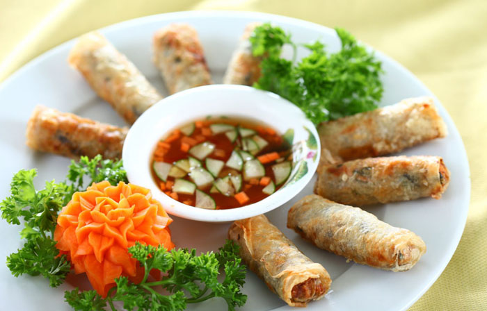 Local dishes in Vietnam